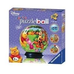 Puzzle Ravensburguer de 96 piezas. Puzzle ball junior. Winnie the Pooh