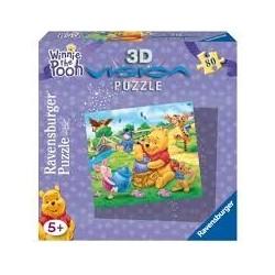 Puzzle Ravensburguer 3D de 80 piezas. Winnie the Pooh