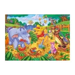 Puzzle Clementoni Supercolor de 104 piezas Winnie the Pooh