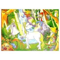 Puzzle Goki de 96 piezas Hadas y duendes