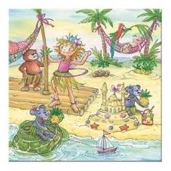 Puzzle Die Spielburg de 100 piezas Princesa Lillifee en el Pacífico