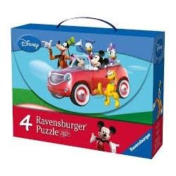 Puzzle Ravensburguer progresivo Disney Micky Club House