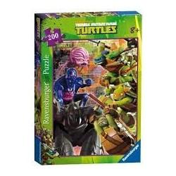 Puzzle Ravensburger de 200 piezas XXL Tortugas Ninja