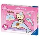 Puzzle Ravensburger de 200 piezas XXL Paseo con Hello Kitty