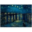Puzzle Ravensburger de 1000 piezas Noche estrellada. Van Gogh