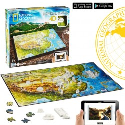 Puzzle 4D Nathional Geographic. Civilizaciones China