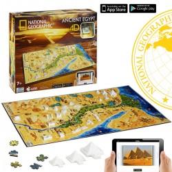 Puzzle 4D Nathional Geographic. Civilizaciones Egipto