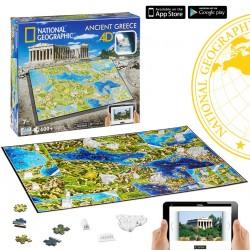 Puzzle 4D Nathional Geographic. Civilizaciones Grecia