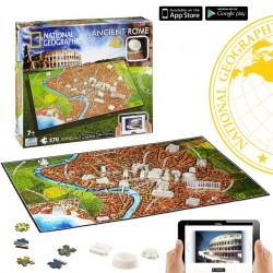 Puzzle 4D Nathional Geographic. Civilizaciones Roma