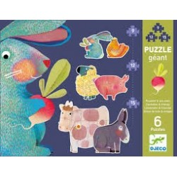 Puzzle Evolutivo Diente de León y amigos