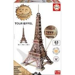 Puzzle Educa 3D  Torre Eiffel