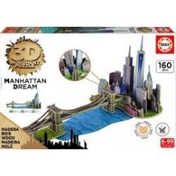 Puzzle Educa 3D  Manhattan Dream