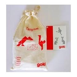 Holzpuzzle Tangram