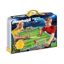 Playmobil 6857 Set de fútbol maletín