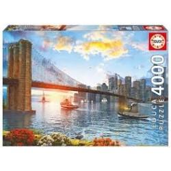 Puzzle Educa de 4000 piezas Puente de Brooklyn