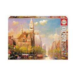 Puzzle Educa de 6000 piezas New York Afternoon