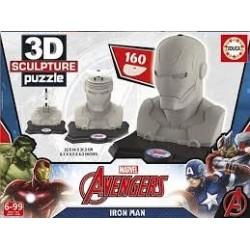 Puzzle Educa 3D Sculpture Iron Man