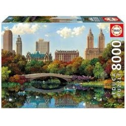 Puzzle Educa de 8000 piezas Central Park, Nueva York