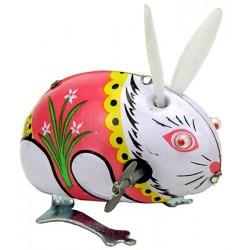 Conejo saltarín de hojalata