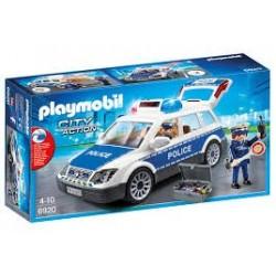 Playmobil 6920  Coche de policia con luces y sonido