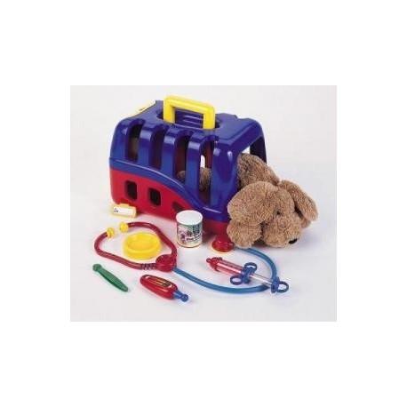 Kit de veterinario con perrito