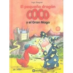 El pequeño dragón Coco y el gran mago. Nº4