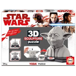 Puzzle Educa 3D Sculpture Yoda