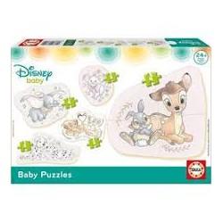 Puzzle Educa progresivo. 5 baby puzzles Animales domésticos