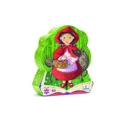 Puzzle silueta Caperucita Roja