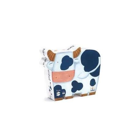Puzzle silueta. Las vacas