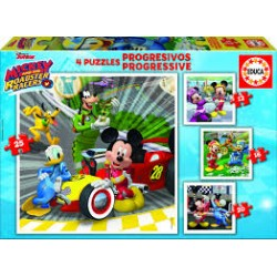 Puzzle Educa progresivo. 5 baby puzzles Mickey