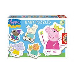 Puzzle Educa progresivo. 5 baby puzzles Disney Princesas