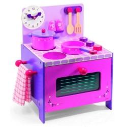 Mi cocinita rosa y lila
