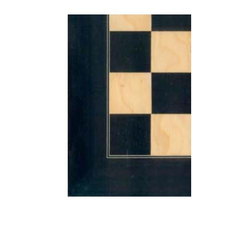 Tablero de ajedrez amarillo/negro