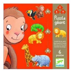Puzzle Evolutivo Margarita y sus amigos