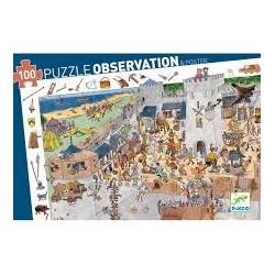 Puzzle de Observación de 100 piezas. Castillo