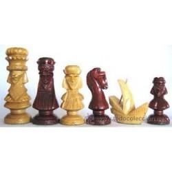 Fichas de ajedrez Colón