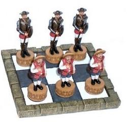 Tres en raya Quijote- Sancho
