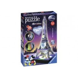 Puzzle Ravensburger 3D Arco del Triunfo Night Edition