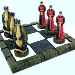 Tres en raya San Jorge- Dragón