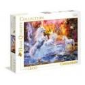 Puzzle Clementoni de 1500 piezas Unicornios salvajes