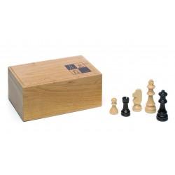 Fichas de ajedrez madera