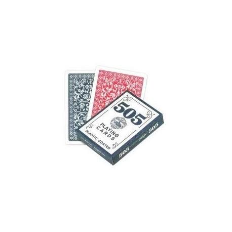 Cartas poker 505 Biseladas