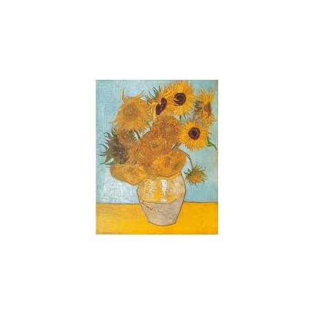 Puzzle Clementoni de 1000 piezas Los girasoles