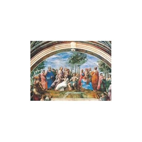 Puzzle Clementoni de 1000 piezas El Parnaso, Rafaello