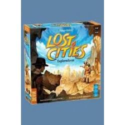 Exploradores. Lost Cities.