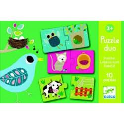 Puzzle duo. Habitat