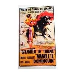 Cartas carteles toros Pozoblanco