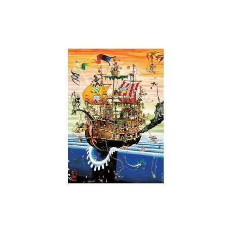 Puzzle Heye 3D  1000 Crisp, Ahoy!