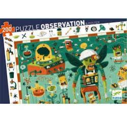 Puzzle de Observación de 200 piezas. Equitación